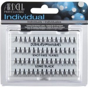 Ardell Lashes - Individual knot-free Flares - LONG BLACK