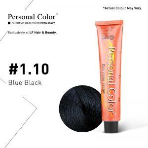 Cosmo Service Personal Color Permanent Cream 1.10 - Blue Black 100ml