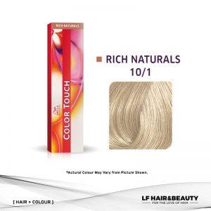 Wella Color Touch Semi-Permanent Cream 10/1 - Lightest Blonde Ash 60g