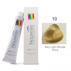 Nouvelle - Permanent Hair Color 10/Very Light Blonde Extra 100ml