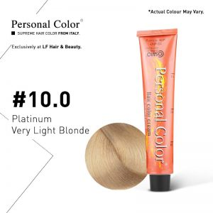 Cosmo Service Personal Color Permanent Cream 10.0 - Platinum Very Light Blonde 100ml