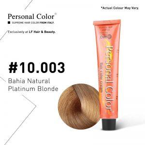 Cosmo Service Personal Color Permanent Cream 10.003 - Bahia Natural Platinum Blonde 100ml