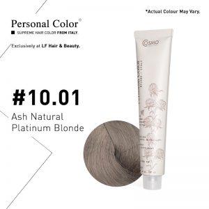 Cosmo Service Personal Color Permanent Cream 10.01 - Ash Natural Platinum Blonde 100ml