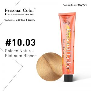 Cosmo Service Personal Color Permanent Cream 10.03 - Golden Natural Platinum Blonde 100ml