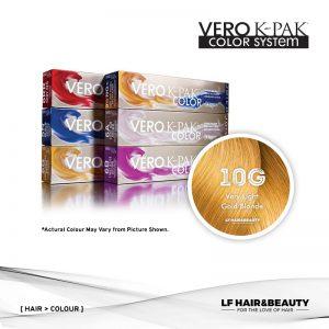 Joico Vero K-PAK Color Permanent Color - Very Light Gold Blonde 10G 74ml