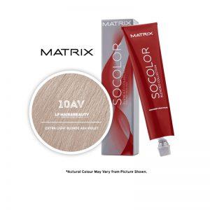 Matrix SoColor Blended Collection 10AV Extra Light Blonde Ash-Violet - 85g