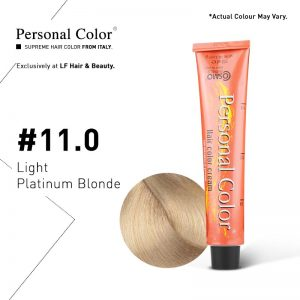 Cosmo Service Personal Color Permanent Cream 11.0 - Light Platinum Blonde 100ml