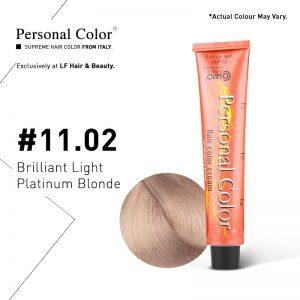 Cosmo Service Personal Color Permanent Cream 11.02 - Brilliant Light Platinum Blonde 100ml