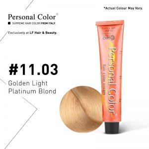 Cosmo Service Personal Color Permanent Cream 11.03 - Golden Light Platinum Blond 100ml