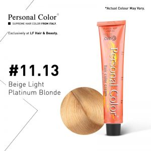 Cosmo Service Personal Color Permanent Cream 11.13 - Beige Light Platinum Blonde 100ml