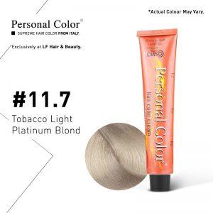 Cosmo Service Personal Color Permanent Cream 11.7 - Tobacco Light Platinum Blond 100ml