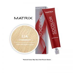 Matrix SoColor Blended Collection 11A Extra Light Blonde Plus Ash - 85g