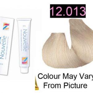 Nouvelle - Permanent Hair Color 12.013 Ultra Light Beige Blonde Plus 100ml