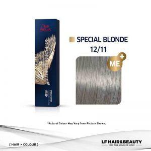 Wella Koleston Perfect Permanent Cream 12/11 - Special Blonde Intensive Ash 60g