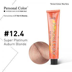 Cosmo Service Personal Color Permanent Cream 12.4 - Super Platinum Auburn Blonde 100ml