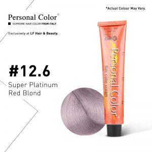 Cosmo Service Personal Color Permanent Cream 12.6 - Super Platinum Red Blond 100ml