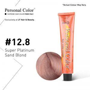 Cosmo Service Personal Color Permanent Cream 12.8 - Super Platinum Sand Blond 100ml