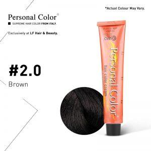 Cosmo Service Personal Color Permanent Cream 2.0 - Brown 100ml