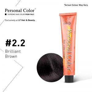 Cosmo Service Personal Color Permanent Cream 2.2 Brilliant Brown - 100ml