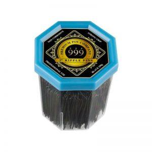 999 - Ripple Pins 2'' Black 250gm