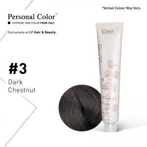 Cosmo Service Personal Color Permanent Cream 3 - Dark Chestnut 100ml