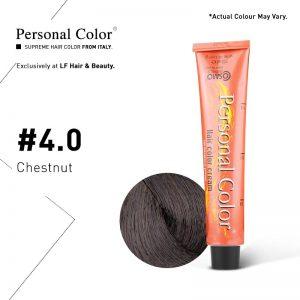 Cosmo Service Personal Color Permanent Cream 4.0 - Chestnut 100ml