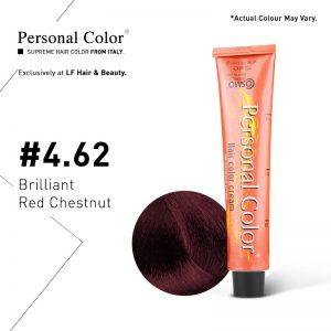 Cosmo Service Personal Color Permanent Cream 4.62 - Brilliant Red Chestnut 100ml