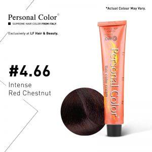 Cosmo Service Personal Color Permanent Cream 4.66 - Intense Red Chestnut 100ml