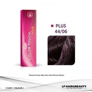 Wella Color Touch Semi-Permanent Cream 44/06 - Medium Natural Violet 60g