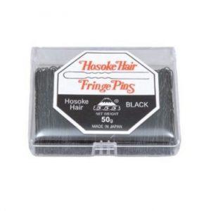 """555 - Hosoke Hair Fringe Pins Black 2"""" 50g"""
