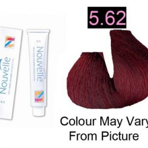 Nouvelle - Permanent Hair Color 5.62 Light Red Irise Brown 100ml