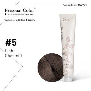 Cosmo Service Personal Color Permanent Cream 5 - Light Chestnut 100ml