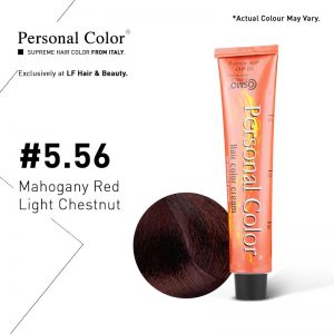 Cosmo Service Personal Color Permanent Cream 5.56 - Mahogany Red Light Chestnut 100ml
