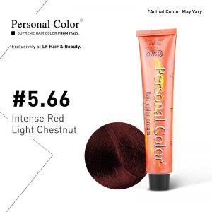 Cosmo Service Personal Color Permanent Cream 5.66 - Intense Red Light Chestnut 100ml