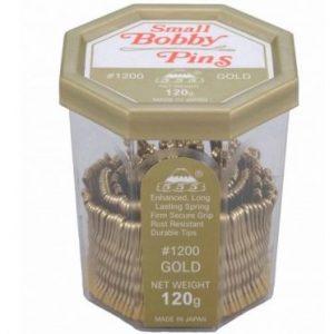 """555 - Bobby pins 1.5"""" Gold 120g"""