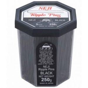555 - Ripple Pins 3'' Black 250g