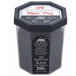 555 - Ripple Pins 2'' Black 250g