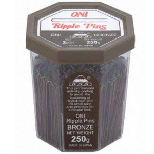 555 - Ripple Pins 2'' Bronze 250g