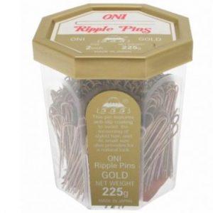 555 - Ripple Pins 2'' Gold 225g