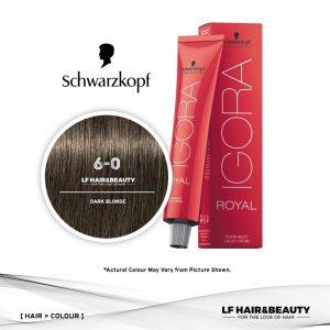 Schwarzkopf Igora Royal 6-0 Dark Blonde 60ml