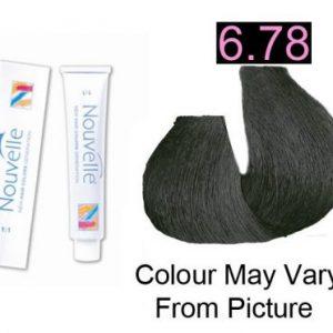 Nouvelle - Permanent Hair Color 6.78 Quartz 100ml