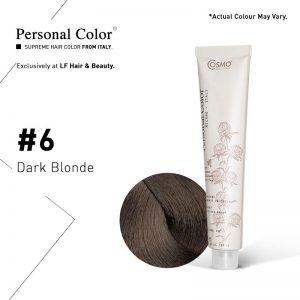 Cosmo Service Personal Color Permanent Cream 6 - Dark Blonde 100ml