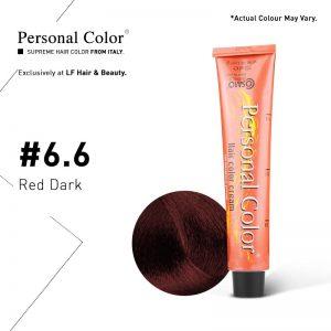Cosmo Service Personal Color Permanent Cream 6.6 - Red Dark 100ml