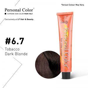 Cosmo Service Personal Color Permanent Cream 6.7 - Tobacco Dark Blonde 100ml