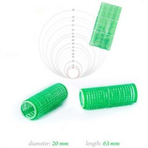 Velcro Rollers 20*63mm - 12 pack