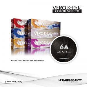 Joico Vero K-PAK Color 6A Permanent Color - Light Ash Brown 74ml