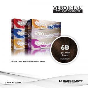 Joico Vero K-PAK Color 6B Permanent Color - Light Beige Brown 74ml