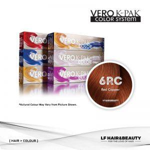 Joico Vero K-PAK Color 6RC Permanent Color - Red Copper 74ml
