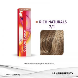 Wella Color Touch Semi-Permanent Cream 7/1 - Medium Blonde Ash 60g
