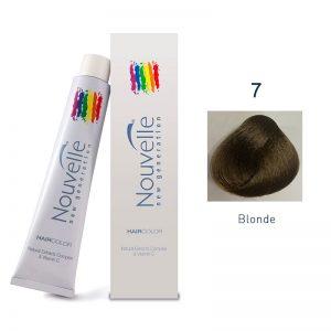 Nouvelle - Permanent Hair Color 7 Blonde 100ml